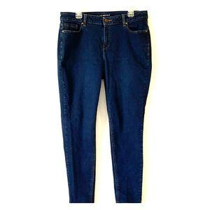 Lane Bryant 16R Dark Skinny Jeans.